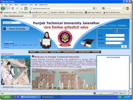 PTU Website