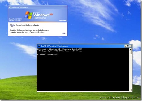 how to find user account password xp crack
