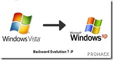 Modding XP to Vista ? Backward Evolution I guess...