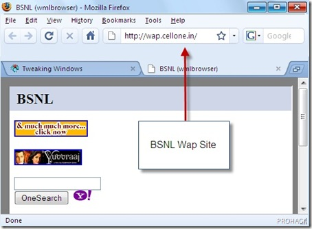 Firefox Extension to browse WAP sites - rdhacker.blogspot.com