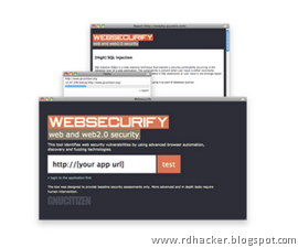 Secure your Web tech using Websecurify - rdhacker.blogspot.com