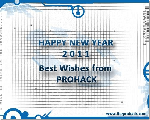 Prohack wishes you a very happy new year :)