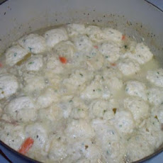 Chicken & Dumplings -Northern Style (Balls, Not Noodles)
