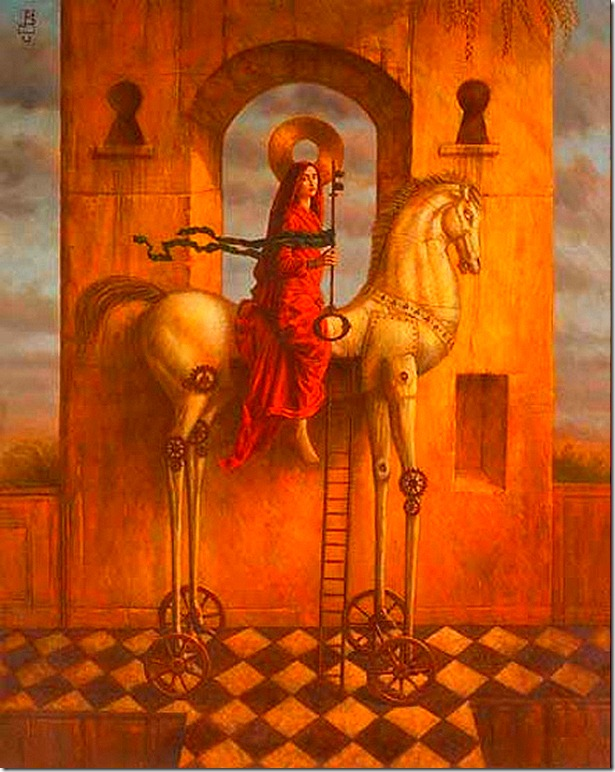 A Key For All Doors by Jake Baddeley, 2003.