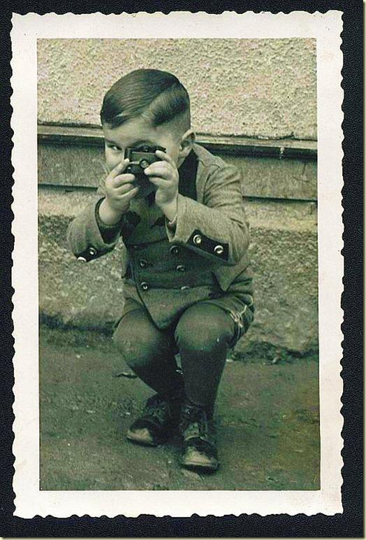1910 Boy With Camera