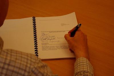 5 maja 2009 roku - podpisanie porozumienia