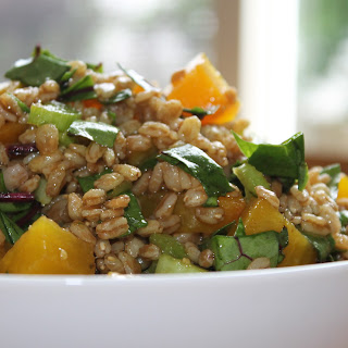 Citrus Farro Salad w/ Golden Beets