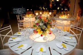 patfig casa das canoas Baú de ideias: Decoração de casamento amarelo