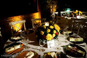 patfig flavia cavaliere Baú de ideias: Decoração de casamento amarelo