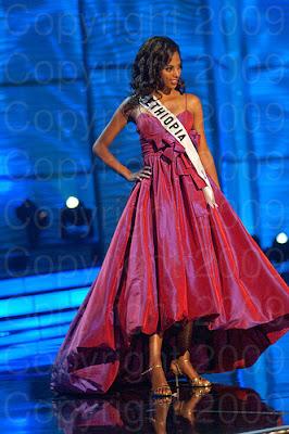 etiopia Miss Universo 2009: Inspirações para vestidos de madrinha e noiva