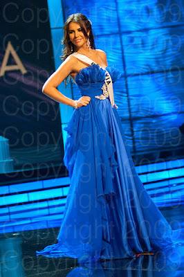 bolivia Miss Universo 2009: Inspirações para vestidos de madrinha e noiva