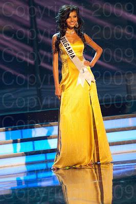 bulgaria Miss Universo 2009: Inspirações para vestidos de madrinha e noiva