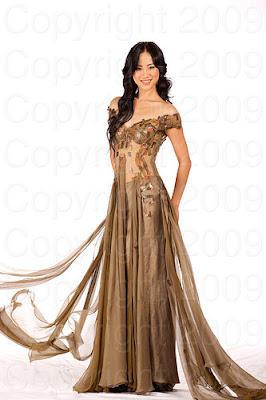 china2 Miss Universo 2009: Inspirações para vestidos de madrinha e noiva