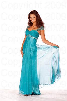 costa rica2 Miss Universo 2009: Inspirações para vestidos de madrinha e noiva