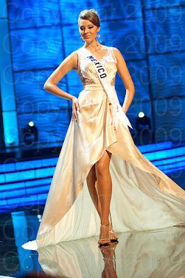 mexico1 Miss Universo 2009: Inspirações para vestidos de madrinha e noiva