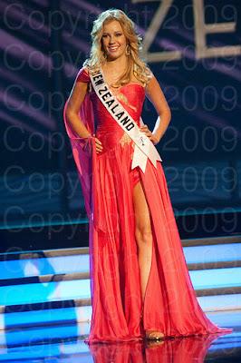 nova zelandia1 Miss Universo 2009: Inspirações para vestidos de madrinha e noiva