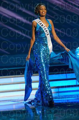 tanzania Miss Universo 2009: Inspirações para vestidos de madrinha e noiva