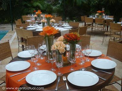Imagem004 blog Baú de ideias: Decoração de casamento laranja