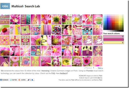 Multicolr Search Lab