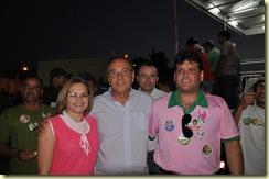 Agripino, Marcelo Porto e professora Gilvanete