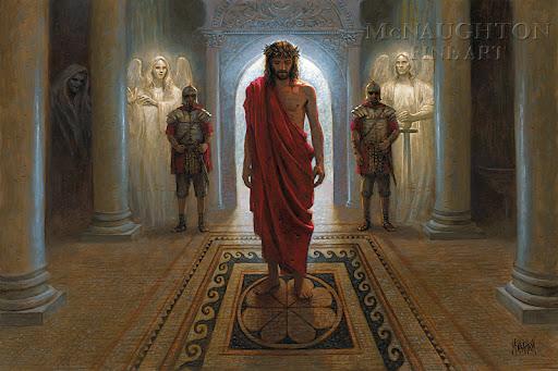 Isus pred Pilatom