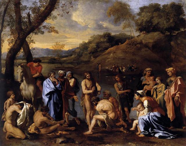 Nicolas Poussin: Sv. Ivan Krstitelj krsti ljude