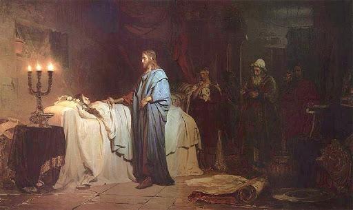 Ilja Jefimowitsch Repin: Uskrišenje Jairove kćeri