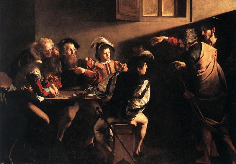 Caravagio: Zvanje sv. Mateja