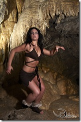 Rat's Nest Cave Shoot with Tabitha Worby, Paul Spenard