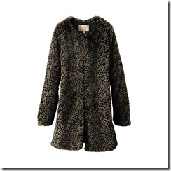 uniqlo fur coat
