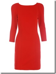 dvf red dress 2
