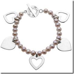rebecca heart bracelet