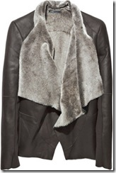 shearling jacket vince