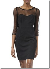 black dress temperley