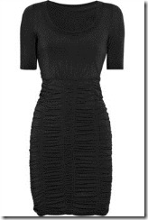 black dress burberry