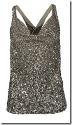 all saints sequin top