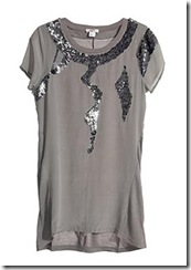 reiss embellished top