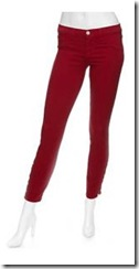 donna ida red jeans