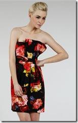 ted baker rose print dress