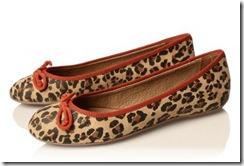 leopard ballet pumps