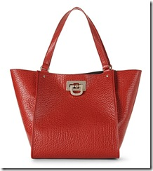 DKNY red shopper