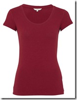 kew red tshirt