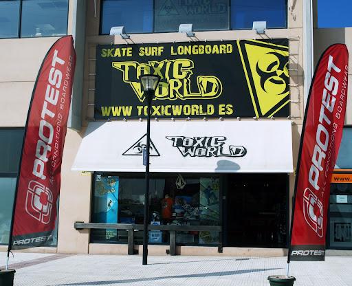 Nueva tienda Toxic World, en el polígono Európolis