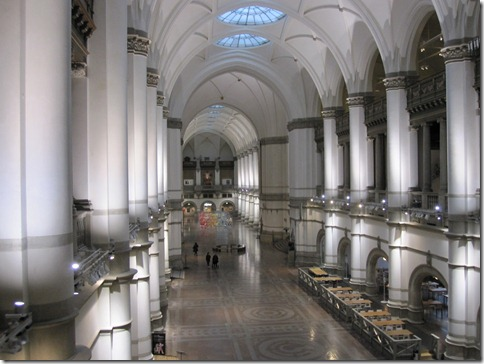 The inner hall of the Nordiska Museet