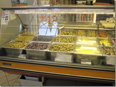 Saluhallen Market - We've got Olives...