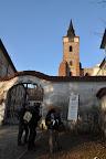 Cílem naší cesty byl klášter v Sázavě. Nicméně, jak se dalo očekávat, byl zavřený