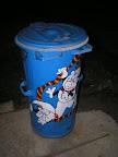 V Bechyni v Zámostí mají nejhezčí popelnice na světě.