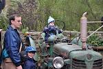 Malý traktorista, ten se má.