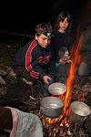 Vařila myšička kašičku... Né, děti vařily lektvar.