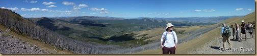 panorama mt washburn hike